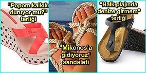 Sahillerde Bol Bol Görülen Terlik ve Sandalet Modellerine Göre Cuk Oturan 13 Karakter Analizi