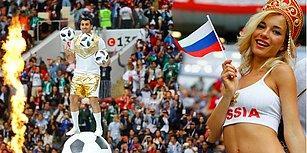 2018 Dünya Kupası Heyecanı Başladı! 1 Ay Boyunca Sürecek Olan Futbol Karnavalından Muhteşem Görüntüler