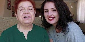 Siz Ne Tatlısınız! Babaannesi ile Yaşadığı Muhteşem Anları Paylaşarak Hayatımıza Giren Başak, Şimdi de Babaannesine Makyaj Videosu Çekti!