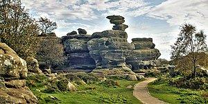Magandalar Her Yerde!  320 Milyonluk Tarih Brimham Kayaları Vandallar Tarafından Mahvedildi!