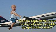 Bebeğinizle Uçaktayken Tuhaf Bakışlarla Karşılaşmak İstemiyorsanız Bu Tavsiyeleri Mutlaka Okumalısınız!