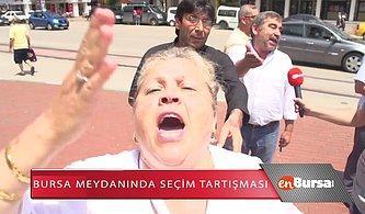 Erdoğan Hayranı Kadın: 'Onun Kafasını Yerim Ben, Aşkım Benim'