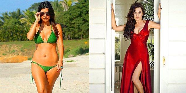 13. Kourtney Kardashian mi yoksa Şenay Gürler mi daha uzun?