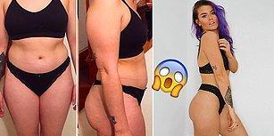 Selülitleriyle Dalga Geçen Erkek Arkadaşı Yüzünden 4 Yıl Sadece Pantolon Giyen Kadının 6 Aydaki Muhteşem Değişimi!