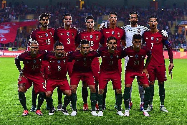 Portekiz A Milli Takımı 2018 Dünya Kupası Kadrosu