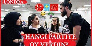 Londra'da Yaşayan Türkler Hangi Partiye Oy Verecekler?