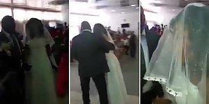 Gelinliğini Giyip Eski Sevgilisinin Düğününü Basan Kadın