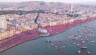 15 Fotoğraf ile Muharrem İnce'nin İzmir Mitingi: 'Çatılar Doluysa Kazandın Demektir'