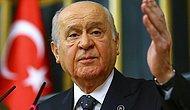 Bahçeli'den AKP'ye: 'Davutoğlu'nun Hatalarına Düşerlerse Her Şey Biter'