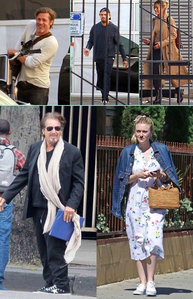 15. Tarantino'nun yeni filmi Once Upon a Time in Hollywood'a Al Pacino da dahil oldu. Pacino, DiCaprio'nun karakterinin menajerini oynayacak.