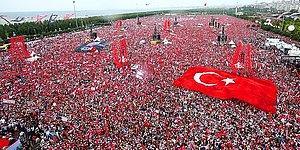 15 Fotoğraf ile Muharrem İnce'nin Büyük İstanbul Mitingi: 'Eskinin Son, Yeninin İlk Seçimi'