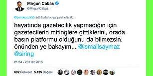 """Mirgün Cabas'tan Kendisine Taraflı Gazeteci Diyen Cem Küçük'e Cevap: """"Hayatında Gazetecilik Yapmadığın İçin Bilmezsin"""""""