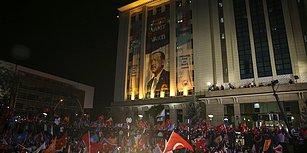 #Seçim2018 Canlı Blog  | Cumhurbaşkanı Erdoğan Balkon Konuşması İçin Ankara'da Bekleniyor