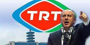 Muharrem İnce, Seçim Sonrası Yaptığı Basın Toplantısından TRT'yi Kovdu!