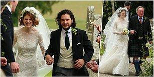 Hadi Gözümüz Aydın! Game of Thrones'dan Jon Snow ve Ygritte Masal Gibi Bir Düğünle Evlendi