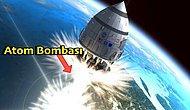 Atom Bombasıyla Çalışan ve Tüm İnsanlığı Başka Bir Gezegene Taşımayı Amaçlayan Çılgın Orion Projesi