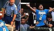 Arjantin Kazandı Maradona Havalara 'Uçtu': Efsane İsim, Dünya Kupası'na Damga Vurmaya Devam Ediyor
