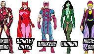Birçoğumuzun Beyaz Perdeden Tanıdığı ve Sevdiği Marvel Karakterleri Çizgi Romanlarda Nasıl Görünüyor?