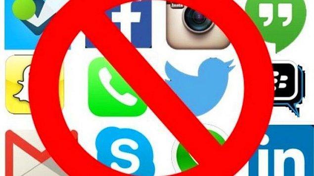 6. Sosyal medya uygulamarınızı bir süreliğine kapatın!