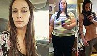 Sevgilisini Kaybetmenin Acısını Bastırmak İçin Kendini Yemeğe Veren Kadın 56 Kilo Vererek Hayata Döndü!