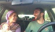 Ne Güzel Bir Aile, Ne Şanslı Bir Çocuk: Arabanın İçinde Şarkı Söyleyen Aileden Ters Köşe Yaptıran Performans!