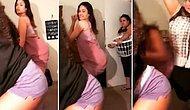 Twerk Dansı Yaparken Annelerine Yakalanınca Terlikle Dayak Yiyen Genç Kızlar