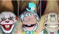 Çenelerin Efendisi! Makyaj Sanatçısı Laura Jenkinson'ın Çene Makyajlarına Çok Şaşıracaksınız