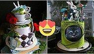 Görünce Nutkunuz Tutulacak! Rus Şefin Yaptığı Her Biri Sanat Eseri Olan Pastalar
