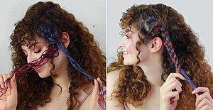 Son Günlerde Herkesin Konuştuğu Yepyeni Trend Saç Makyajını Gizem Üzel Sizin İçin Denedi!