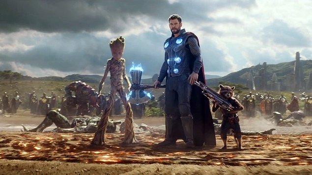 Yenilmezler: Sonsuzluk Savaşı / Avengers: Infinity War