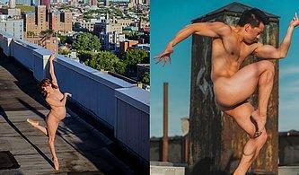 Çıplak ve Korkusuz Dansçıların New York'un Çatılarında Poz Vermesiyle Ortaya Çıkan Muazzam Kareler