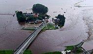 Japonya Sular Altında: 100 Kişinin Hayatını Kaybettiği Felaketin Boyutlarını Gözler Önüne Seren 15 Fotoğraf