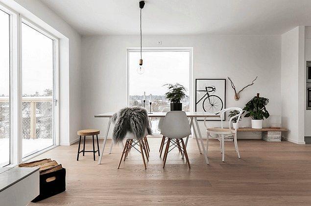 6. Bu sandalyelerden her İskandinav tarzı döşenmiş evde görmeniz mümkün.