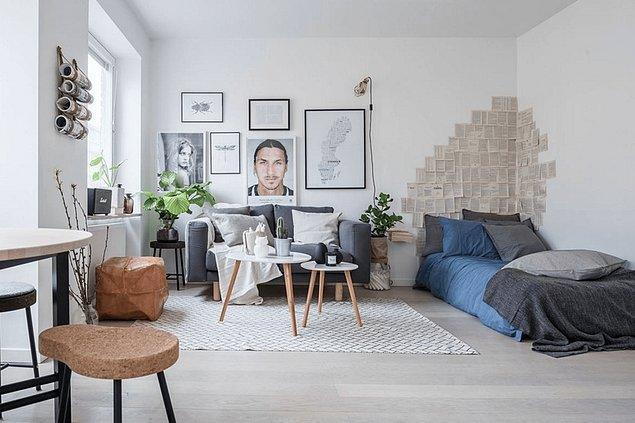 7. Stüdyo evlerde yaşamaya bayılanlar için mükemmel bir ilham kaynağı olabilir.