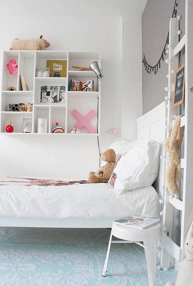 16. Çocuk odaları İskandinav tarzı düzenlemez mi sandınız? Bu oda işte bunun tam tersini kanıtlıyor.