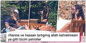"""Rihanna'nın Suudi Milyarder Sevgilisi Hassan Jameel ile Yaptığı """"Atara Atar Gidere Gider"""" Tadındaki Kavgası Gündem Oldu!"""