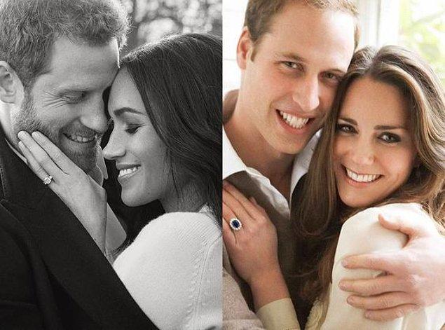 Bu da prens ve prenseslerimizin nişan fotoğrafları! Bu sefer de aradaki aşk ve sevgi benzer. 😉