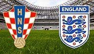 Hırvatistan - İngiltere | Dünya Kupası Yarı Finalinde İlk 11'ler Belli Oldu!