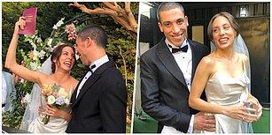 Muratlarına Erdiler! Güzel Oyuncu Öykü Karayel ile Ünlü Şarkıcı Can Bonomo Sürpriz Bir Düğünle Dünyaevine Girdi!
