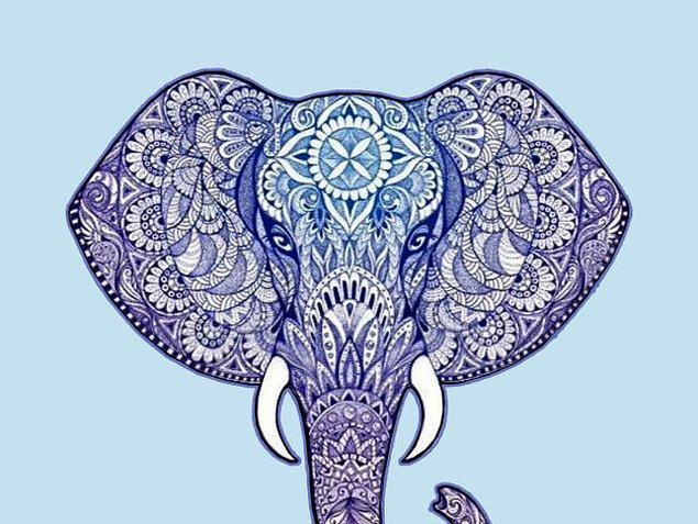 3. En yakın arkadaşına bir kupa hediye etmek istedin. Üstünde hangi fil deseni olsun?