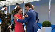 NATO Zirvesinde Eğlenceli Anlar: Justin Trudeau'dan Belçikalı Mevkidaşı Charles Michel'e Gülümseten Hareket