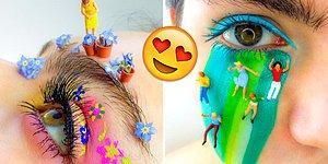 Yok Artık! Makyajı Bir Sanat Haline Getirerek, Gözlerinizden Kalp Çıkartacak 17 Paylaşım