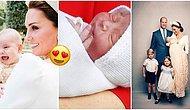 Kate Middleton ve Prens William'ın Tahtın 5. Varisi Olarak Dünyaya Gelen Bebişleri Prens Louis ile Tanışın!