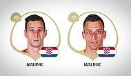 Rus Ezgileriyle 2018 Dünya Kupası Yarı Final Kadroları