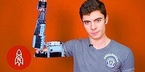Kendine LEGO'lardan Protez Kol Yapan Engelli Genç