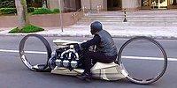 Tasarımı ve Sahip Olduğu Uçak Motoruyla Dikkat Çeken Motosiklet