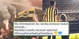 19.07! Sarı Lacivertli Taraftarlar 'Dünya Fenerbahçeliler Günü'nü Kutladı