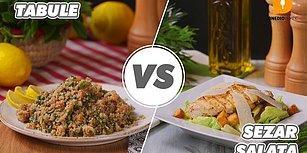 Sağlıklı Seçimler Sizi Zorlayabilir: Tabule vs Sezar Salata Nasıl Yapılır?