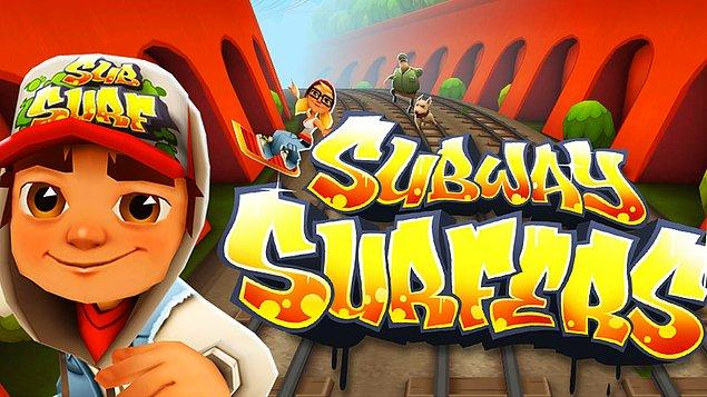 1. Subway Surfers