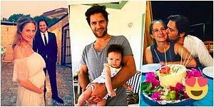 Savcı Esra'mız Anneyken Bir Başka Güzel! Canan Ergüder ile Kenan Ece'nin Gözlerden Kalpler Çıkaran Mutlu Yuvası ❤️